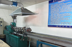 High temperature modified granulator
