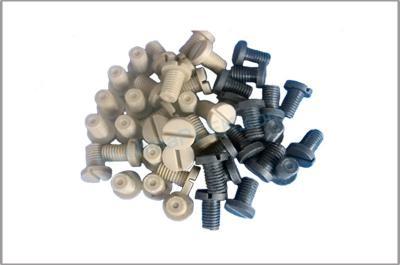 M5 Flat Hexagonal Set PEEK Screws